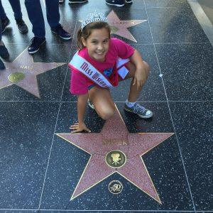 JPT Maci Williams at the Hollywood Walk of Fame