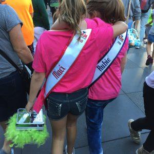 JPT Maci Williams and JPT Rubie Stetzer at Disney