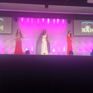 Top 5 on the gorgeous National American Miss Stage
