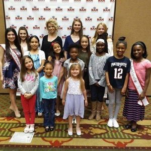 Meeting new friends at the National American Miss Open Call