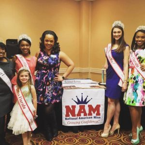 State Director and State Queens at a NAM Open Call
