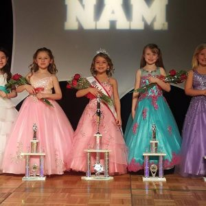 National American Miss Queen and Court