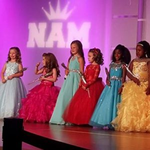 The top semi-finalists at National American Miss