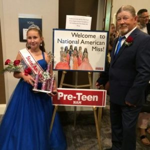 Best Escort ever Pappy and Me at PA State Finals .New PA State Ambassador Montana Dodrill 2017