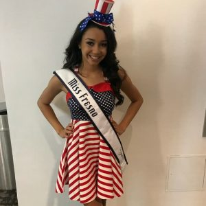 Morgan Elston - Jr Teen,Miss Fresno, CA - Patriotic Rehearsal - Nationals 2017