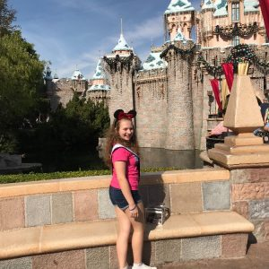Miss Passaic County in Disneyland