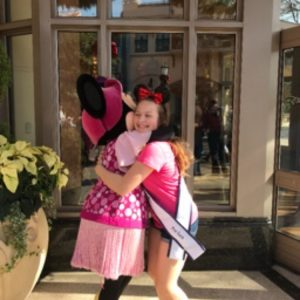 Miss Passaic County with Minnie Mouse