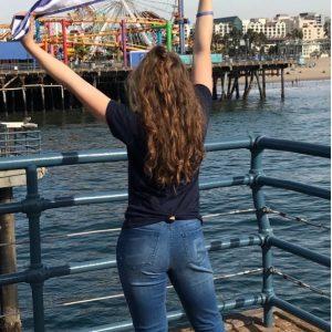 Alexa at Santa Monica Pier